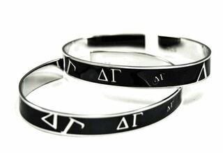 Delta Gamma Black Bangle