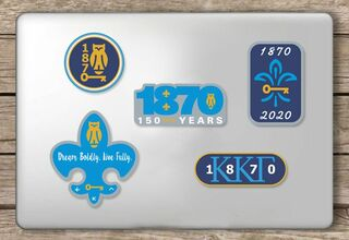 Kappa Kappa Gamma - 150 Years Sticker Sheet