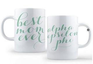 Alpha Epsilon Phi Best Mom Ever Coffee Mug