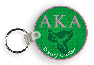 Alpha Kappa Alpha Mascot Keychain