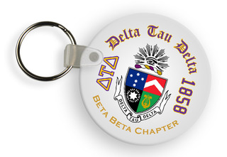 Delta Tau Delta Color Keychains
