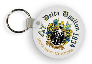 Delta Upsilon Color Keychains