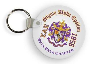 Sigma Alpha Epsilon Color Keychains