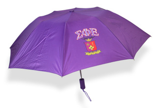 Sigma Phi Epsilon Crest - Shield Umbrella