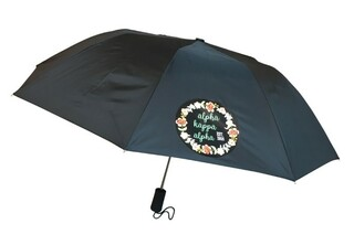 Alpha Kappa Alpha Floral Umbrella
