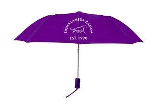 Sigma Lambda Gamma Mascot Umbrella