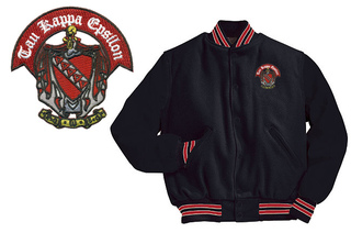 Tau Kappa Epsilon Old School Wool Jacket