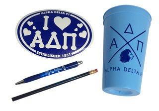 Alpha Delta Pi Sorority Love Set $8.95