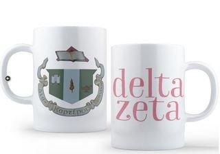 Delta Zeta Crest - Shield Coffee Mug