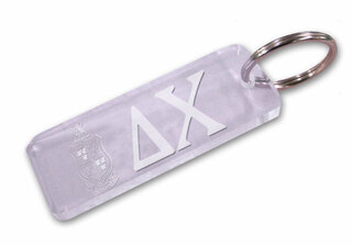 Fraternity / Sorority Crest Acrylic Key Chain