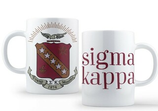 Sigma Kappa Crest - Shield Coffee Mug
