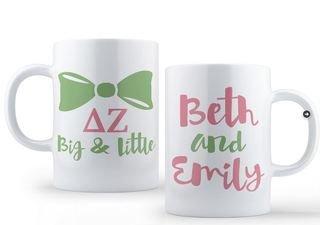 Delta Zeta Big & Little Coffee Mug