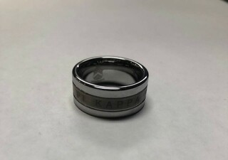 Super Savings - Pi Kappa Alpha Tungsten Ring - SILVER