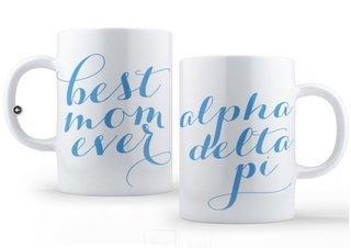 Alpha Delta Pi Best Mom Ever Coffee Mug