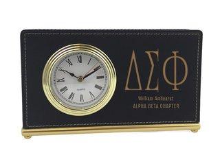Delta Sigma Phi Horizontal Desk Clock
