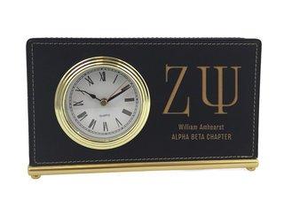 Zeta Psi Horizontal Desk Clock