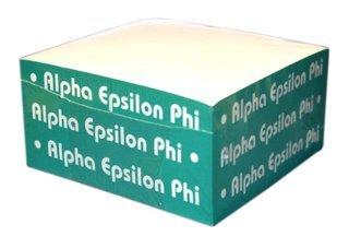 Alpha Epsilon Phi Memo Paper Cube