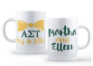 Alpha Sigma Tau Big & Little Coffee Mug