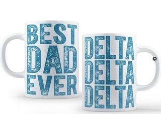Delta Delta Delta Best Dad Ever Coffee Mug