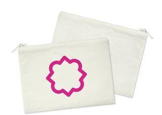 Phi Mu Mascot Cosmetic Bag