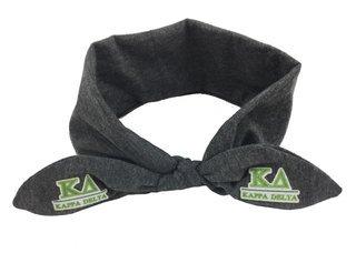 Kappa Delta Knotted Cotton Headband
