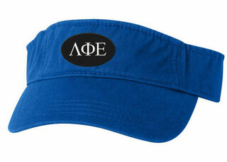 Lambda Phi Epsilon Greek Oval Heavy Visor