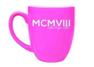 Alpha Kappa Alpha MCMVIII Bistro Mug