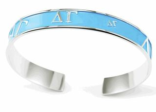 Delta Gamma Light Blue Bangle