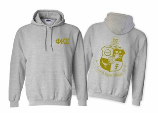 Phi Kappa Sigma World Famous Crest - Shield Hooded Sweatshirt- $35!
