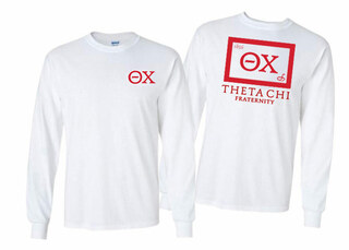 Theta Chi Flag Long Sleeve T-shirt