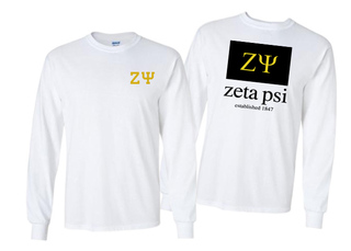 Zeta Psi Flag Long Sleeve T-shirt