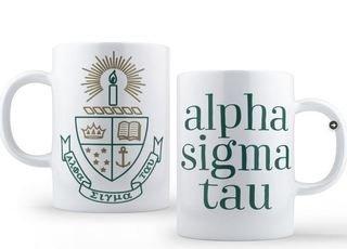 Alpha Sigma Tau Crest - Shield Coffee Mug