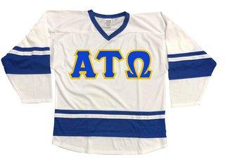DISCOUNT-Alpha Tau Omega Breakaway Lettered Hockey Jersey