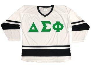 Delta Sigma Phi Breakaway Lettered Hockey Jersey