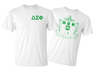 Delta Sigma Phi World Famous Crest - Shield Tee