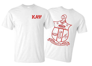 Kappa Alpha Psi World Famous Crest - Shield Tee