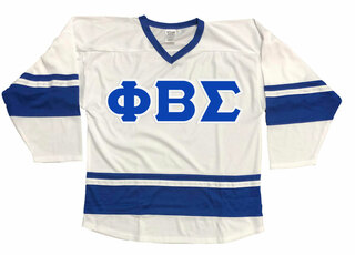 DISCOUNT-Phi Beta Sigma Breakaway Lettered Hockey Jersey