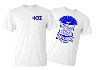 Phi Beta Sigma World Famous Crest - Shield Tee