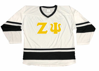 DISCOUNT-Zeta Psi Breakaway Lettered Hockey Jersey