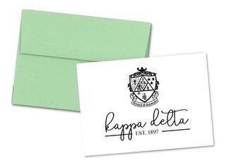 Kappa Delta Established Notecards(6)