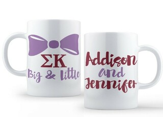 Sigma Kappa Big & Little Coffee Mug