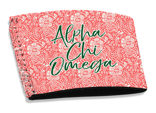 Alpha Chi Omega Coffee Sleeve