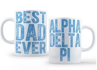 Alpha Delta Pi Best Dad Ever Coffee Mug