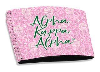 Alpha Kappa Alpha Coffee Sleeve