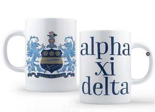 Alpha Xi Delta Crest - Shield Coffee Mug