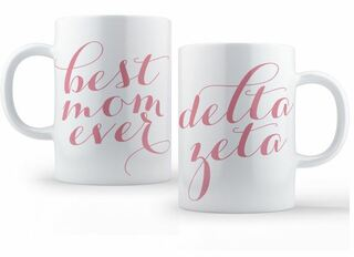 Delta Zeta Best Mom Ever Coffee Mug