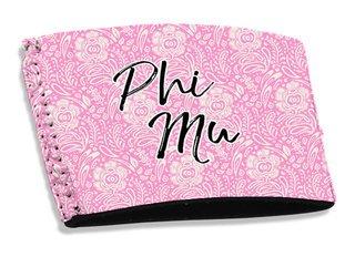 Phi Mu Coffee Sleeve