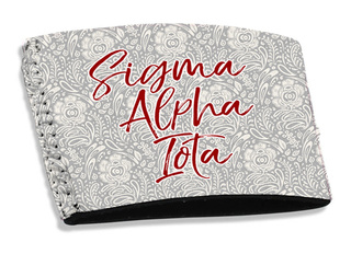 Sigma Alpha Iota Coffee Sleeve