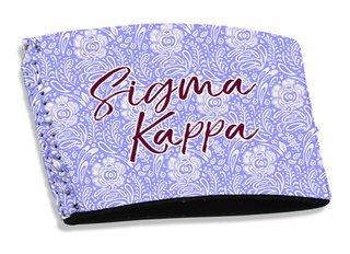 Sigma Kappa Coffee Sleeve