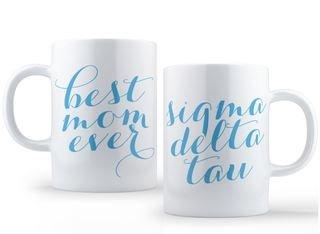 Sigma Delta Tau Best Mom Ever Coffee Mug